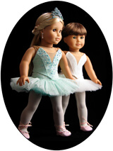 Lee & Pearl Pattern 1073: Prima Ballerina Strapless Bodice and Classical Tutu with Basque and Panty for 18 Inch Dolls