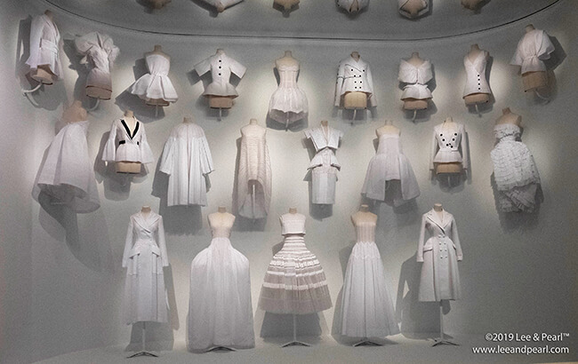 Lee & Pearl visit Dior: from Paris to the World at the Dallas Museum of Art in Dallas, Texas.
