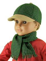 Lee & Pearl Pattern 1008: Classic Ball Cap and Big Fat Trucker Hat for 18 Inch Dolls